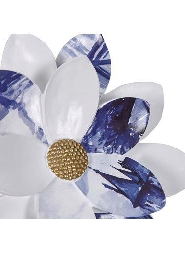 Vitale Vitale Lima Çiçek Dekoratif Obje 27X27 Cm Ak.Gw0022 Renkli